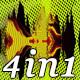 Wave Metamorphosis - VJ Loop Pack (4in1) - VideoHive Item for Sale