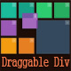 Draggable Div - Movable Website Content