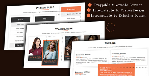 CodeCanyon Draggable Div Movable Website Content 21289308