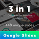 3 in 1 Multipurpose Google Slides Template Bundle (Vol.03) - GraphicRiver Item for Sale