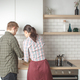 couple cooking at home kitchen together - PhotoDune Item for Sale