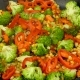 Stir in a Skillet Fry Vegetables - VideoHive Item for Sale
