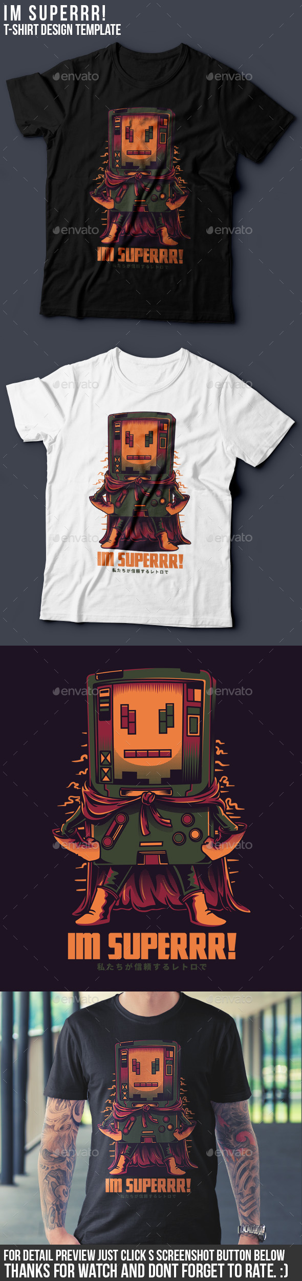 Im Superrr! T-Shirt Design - Funny Designs