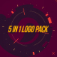 5 in 1 Logo Reveal Pack - VideoHive Item for Sale