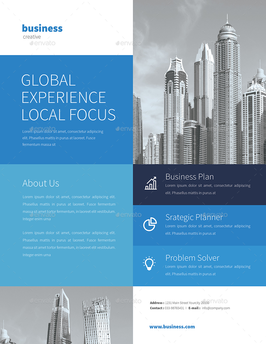 3 professional business flyers by guper graphicriver