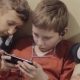 Boy's Friendship, Technology and Concept - Male Friends with Smartphone - VideoHive Item for Sale