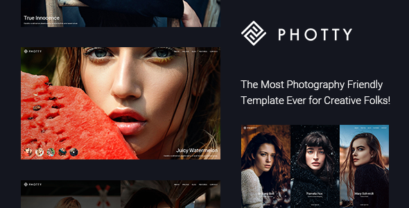 Photty - Photography HTML Template - Photography Creative
