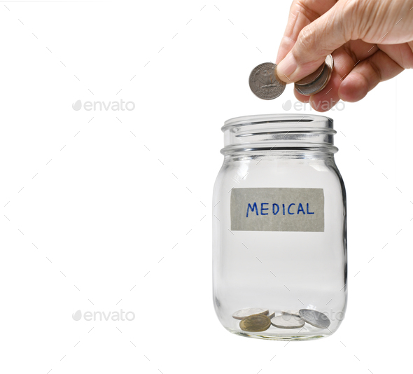concept of saving money - Stock Photo - Images
