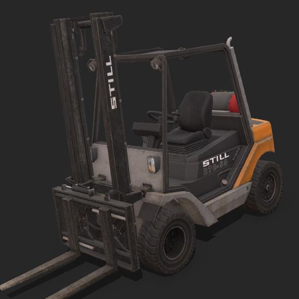 Forklift Still R70-50 - 3DOcean Item for Sale