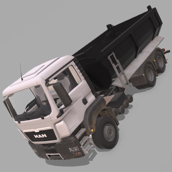 MAN TGS Truck - 3DOcean Item for Sale