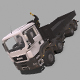 MAN TGS Crane Flatbed - 3DOcean Item for Sale
