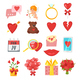 Valentine's Day Romantic Symbols