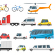 Set of City Transport - GraphicRiver Item for Sale