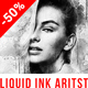 Liquid Ink Artist Photoshop Action