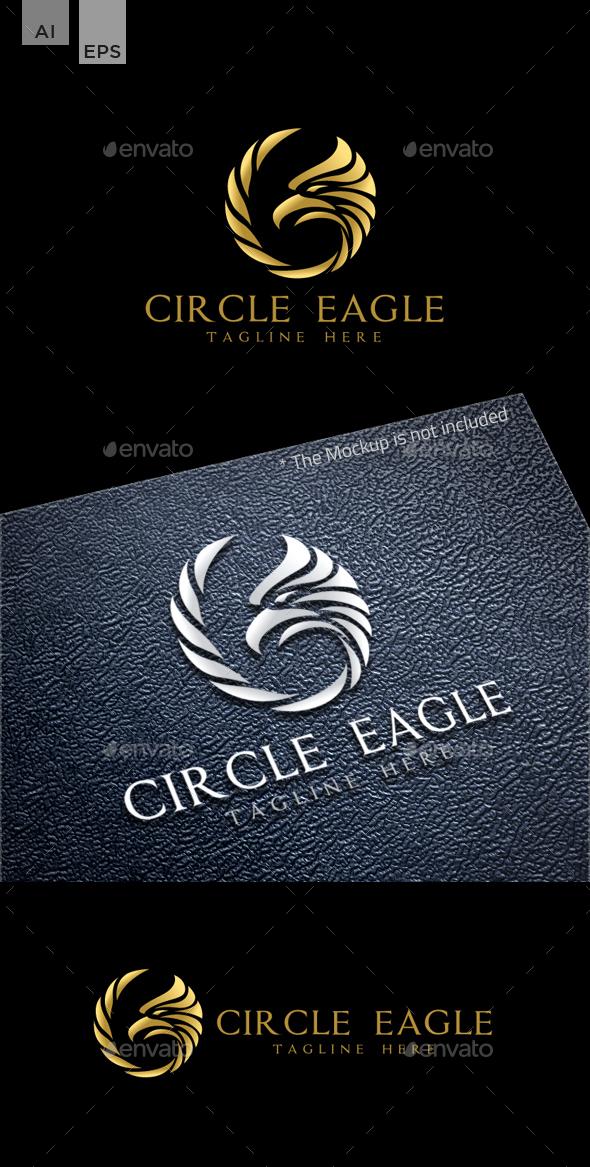 Circle Eagle - Animals Logo Templates