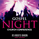 Gospel Night Flyer