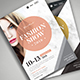Fashion Show Flyer 02 - GraphicRiver Item for Sale