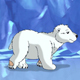Little White Polar Teddy Bear in Arctic - VideoHive Item for Sale