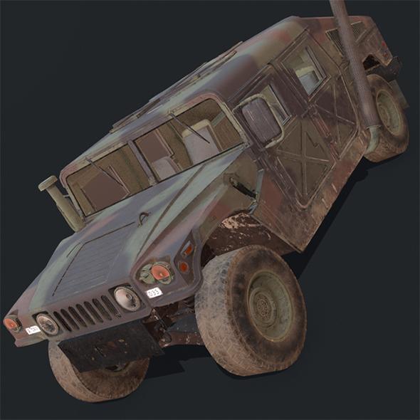 Humvee - 3DOcean Item for Sale