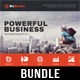 4 Corporate Business Flyer Templates Bundle V5 - GraphicRiver Item for Sale