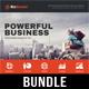 4 Corporate Business Flyer Templates Bundle V5