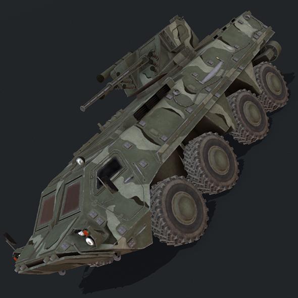 BTR-4 - 3DOcean Item for Sale
