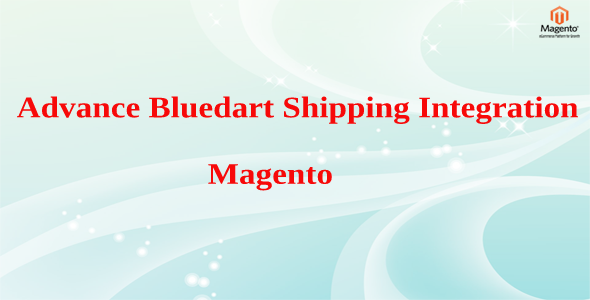 Advance Bluedart Shipping Integration Magento