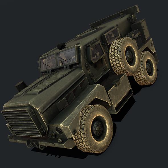MRAP Cougar - 3DOcean Item for Sale