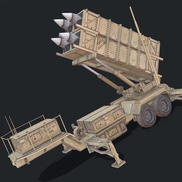 Patriot PAC-3 - 3DOcean Item for Sale