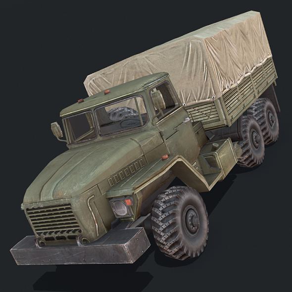 Ural 4320 - 3DOcean Item for Sale