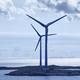Wind turbines at sunset. Renewable energy. Finland seascape. Horizontal - PhotoDune Item for Sale