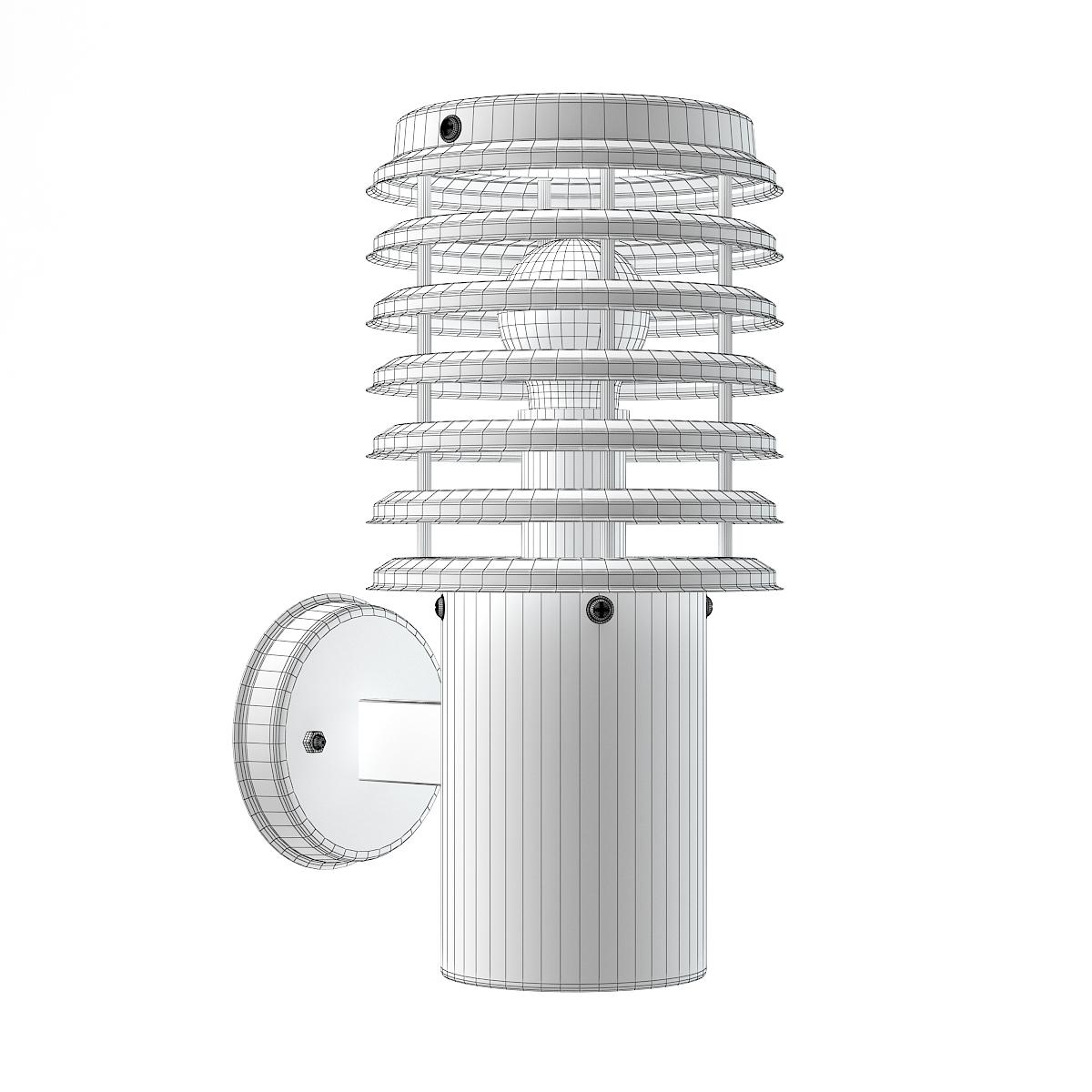 Wall Exterior Lamp 3D Model