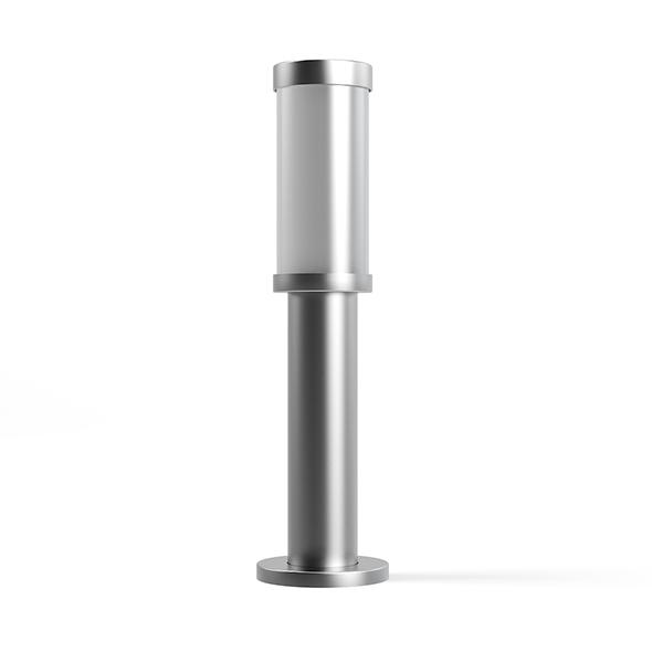 Standing Exterior Lamp 3D Model - 3DOcean Item for Sale