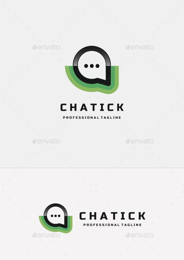 Chat Logo - Logo Templates
