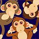 Three Wise Monkeys 404 Error Page - GraphicRiver Item for Sale