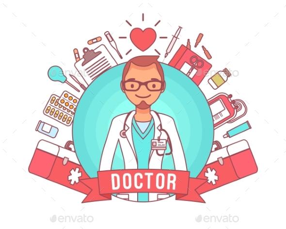 Doctor Professional Poster - Health/Medicine Conceptual