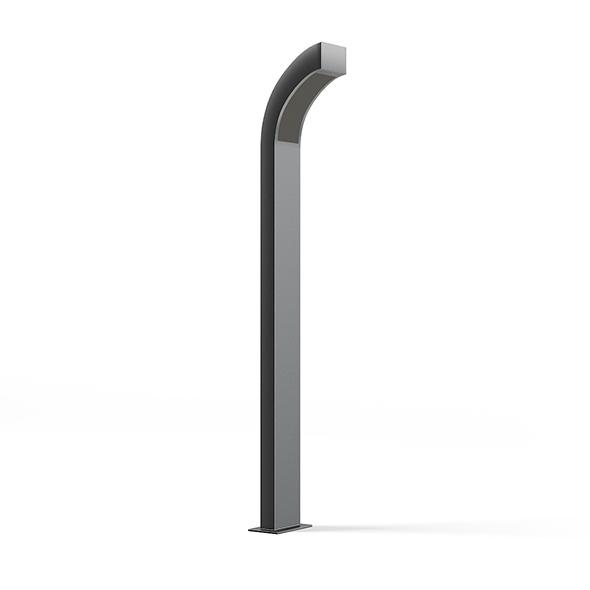 Modern Exterior Standing Lamp 3D Model - 3DOcean Item for Sale