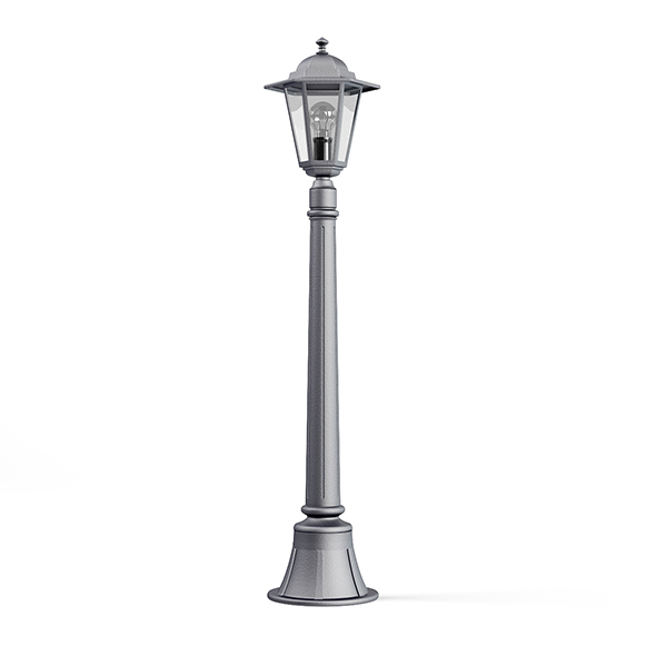 Park Lantern 3D Model - 3DOcean Item for Sale