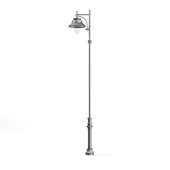 Tall Park Lamp 3D Model - 3DOcean Item for Sale
