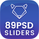 Fashion Sliders - 89 PSD