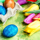 Easter Eggs, Paint and Tulips - PhotoDune Item for Sale