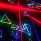 Colorful Neon Triangles - VideoHive Item for Sale