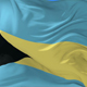 Bahamas Flag Waving at Wind - VideoHive Item for Sale