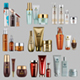 Vector Realistic Cosmetic Bottles Mockup Pack
