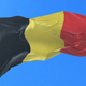 Belgium Flag Waving at Wind - VideoHive Item for Sale