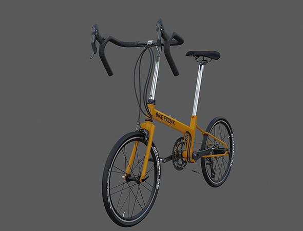 Bike Friday Pocket Rocket SuperPro - 3DOcean Item for Sale