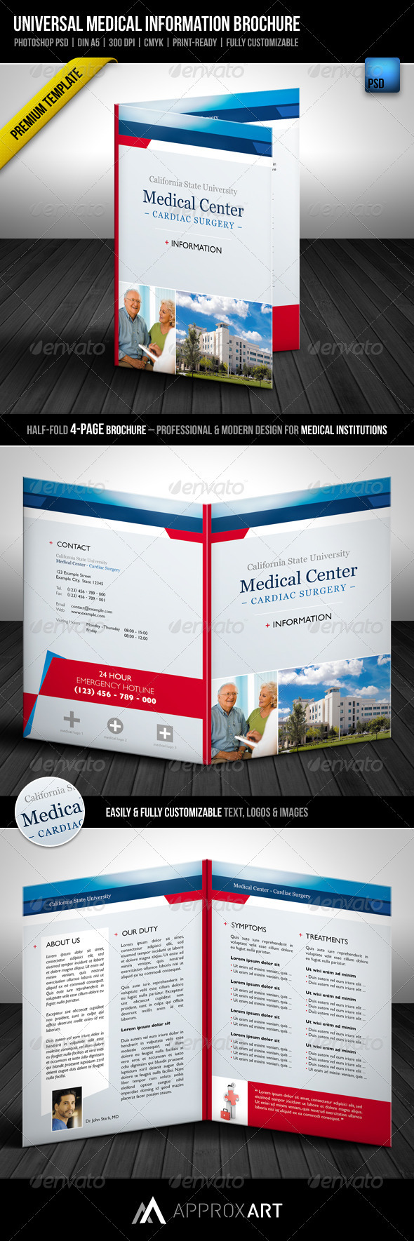 Universal Medical Information Brochure