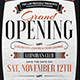 Grand Opening Flyer Template - GraphicRiver Item for Sale