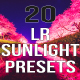 20 LR Sunlight Presets - GraphicRiver Item for Sale