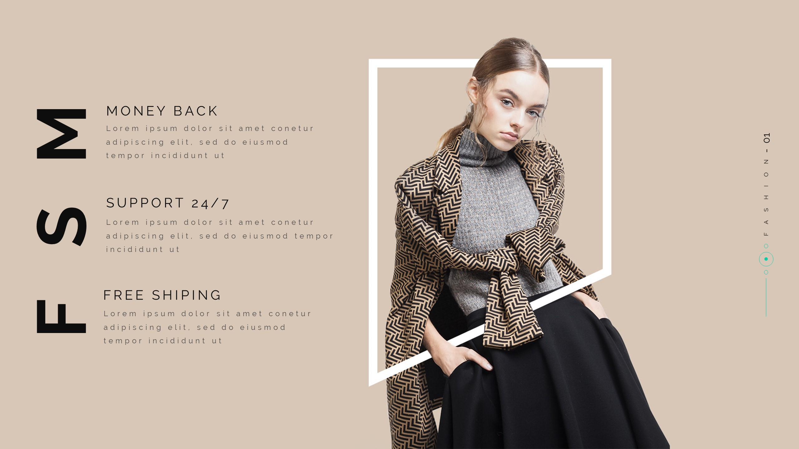Magen Fashion & Clothing Powerpoint Template